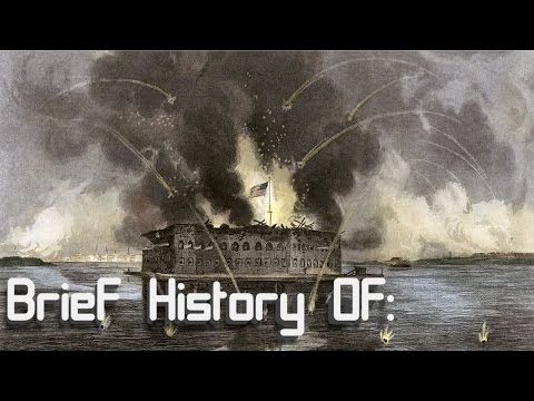 A Brief History Of: The Battle Of Fort Sumter