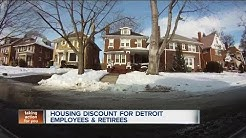 Housing discount for Detroit employees and retirees