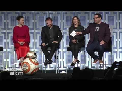 Star Wars The Last Jedi Celebration Panel Highlights - Mark Hamill, Daisy Ridley, John Boyega