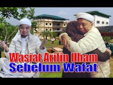 Mengharukan, Inilah Surat Wasiat Ustad Arifin Ilham Sebelum Beliau Wafat