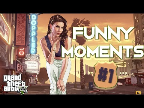 🚗 GTA FUNNY MOMENTS #1 🚗 Grand Theft Auto V Stream Highlights thumbnail