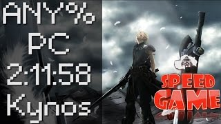 Speed Game: Final Fantasy VII en 2:11:58