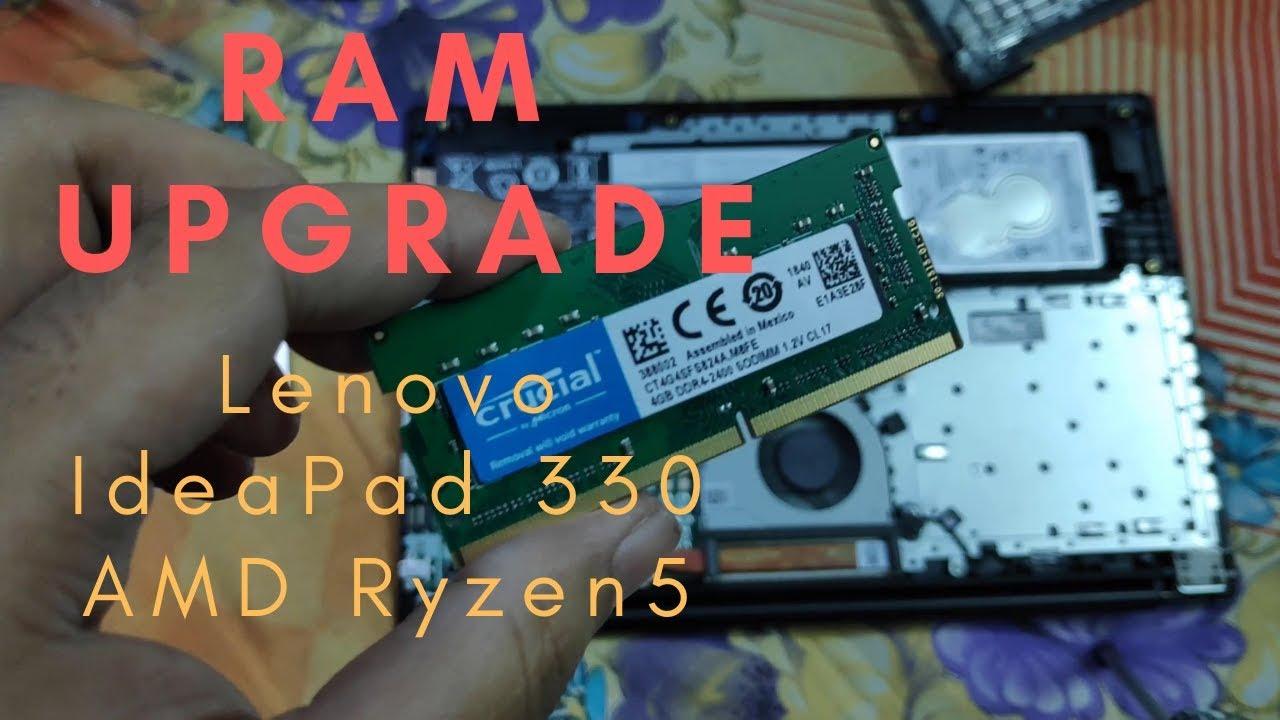 How to upgrade RAM in Lenovo Ideapad 330 Ryzen 5 [HINDI