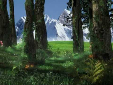 Animated Cartoon Wallpapers For Desktop Celtic Music The Fairy Woods Youtube