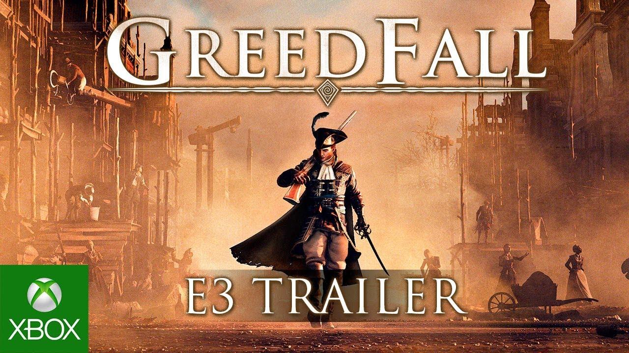 [E3 2018] GREEDFALL - E3 TRAILER