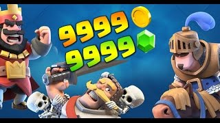 Clash royal hack - unlimited money - 1000% working 2016/2017