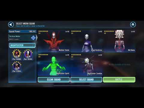 Repeat [SWGoH] Hands Down Best Padme Team  Gear 13 Shaak TI