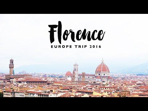 Florence | Europe Travel Vlogs 2016 | Isabel Velazquez
