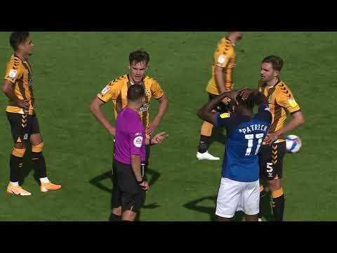 Кембридж Юнайтед  3-0  Карлайл Юнайтед видео