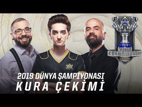 Worlds 2019 - Kura Çekimi