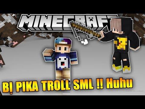 GHAST BOY BỊ PIKA BOY TROLL SẤP MẶT LÒNG !!  Minecraft Nghịch