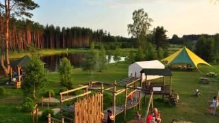 Kempingi Latvijā - Campings in Latvia - Campingplatzen in Lettland 2014
