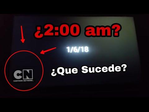 No Debes Ver Cartoon Network a las 2:00 AM