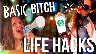 BASIC BITCH LIFE HACKS THAT WILL CHANGE YOUR LIFE! | itsLyndsayRae Thumbnail