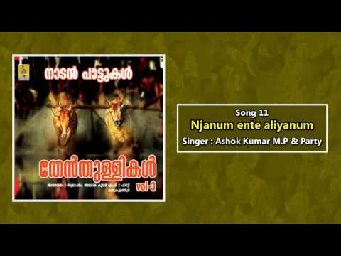 Njanum ente aliyanum - a song from Thenthullikal Vol-3 sung by Ashok Kumar M.P & Party