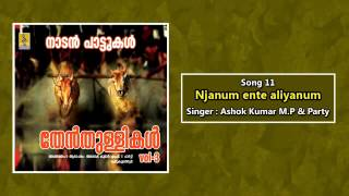 njanum ente aliyanum a song from thenthullikal vol 3 sung by ashok kumar mp party