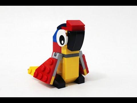 Recenzja Lego Creator 30472 Papuga Youtube