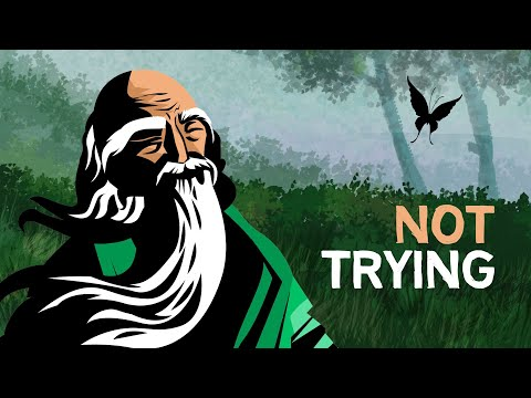 TAOISM | The Art of Not Trying