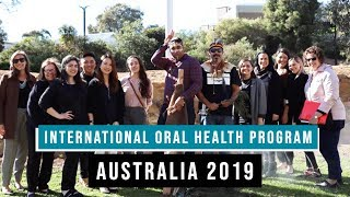 WCU's International Oral Health Program 2019 Goes to Australia