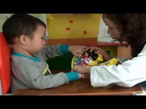 Trẻ tự kỷ - Bài dạy mẫu 2
