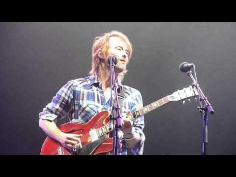 Thom Yorke , Black Swan , BIg Chill Festival 6.8.2010 - first row -