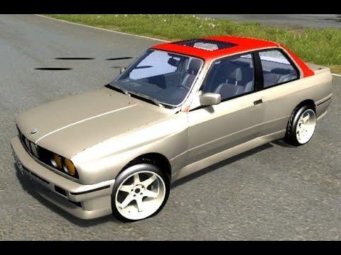 BeamNG.Drive Mod : BMW M3 E30 (physics Crash Test)