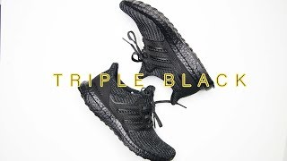 Adidas ULTRABOOST 4.0 TRIPLE BLACK // MOST FAVOURITE ULTRABOOST FOR 2018