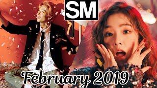 [TOP 100] Most Viewed SM Kpop MVs [February 2019]