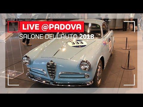 Alfa Romeo a Padova con  FCA Heritage | Auto e Moto d'Epoca 2018