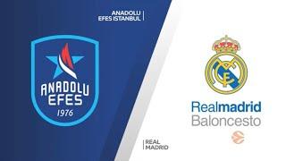 EuroLeague Playoff 1. Maç: Anadolu Efes - Real Madrid