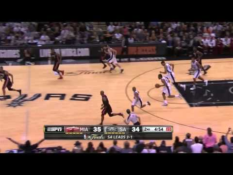 Kawhi Leonard 22 points vs Miami Heat | game 5 | 2014 NBA finals MVP