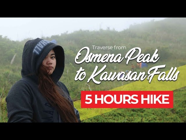 5 Hours Traverse from Osmeña Peak to Kawasan Falls in Cebu Philippines