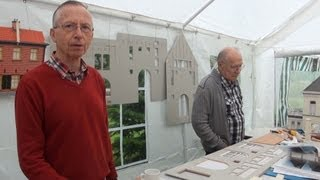 Henk Nieuwenhuizen en Frits Loonen bouwers van miniaturen