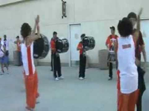 Impulse Drum Line at NBA Outdoors
