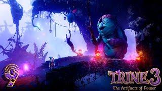 Trine 3: The Artifacts of Power прохождение на геймпаде часть 9 Снова в какой-то книжке