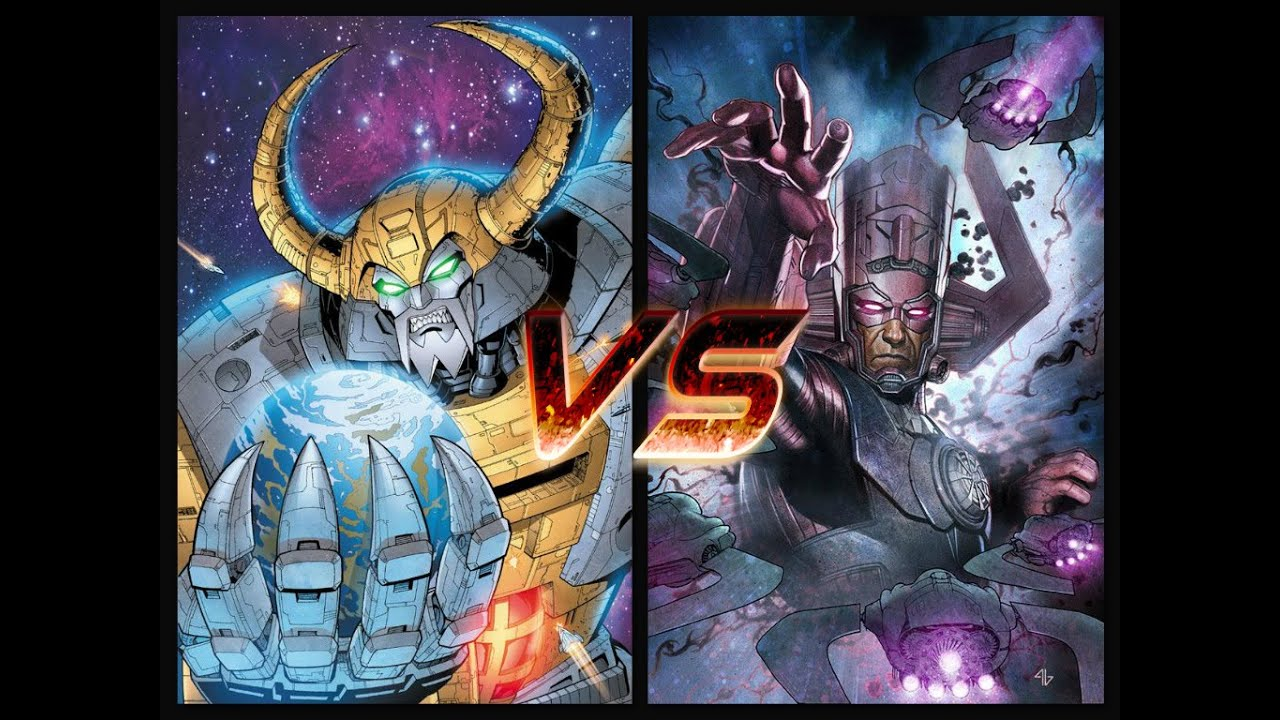 section 4 fantasy fightunicron vs galactus youtube