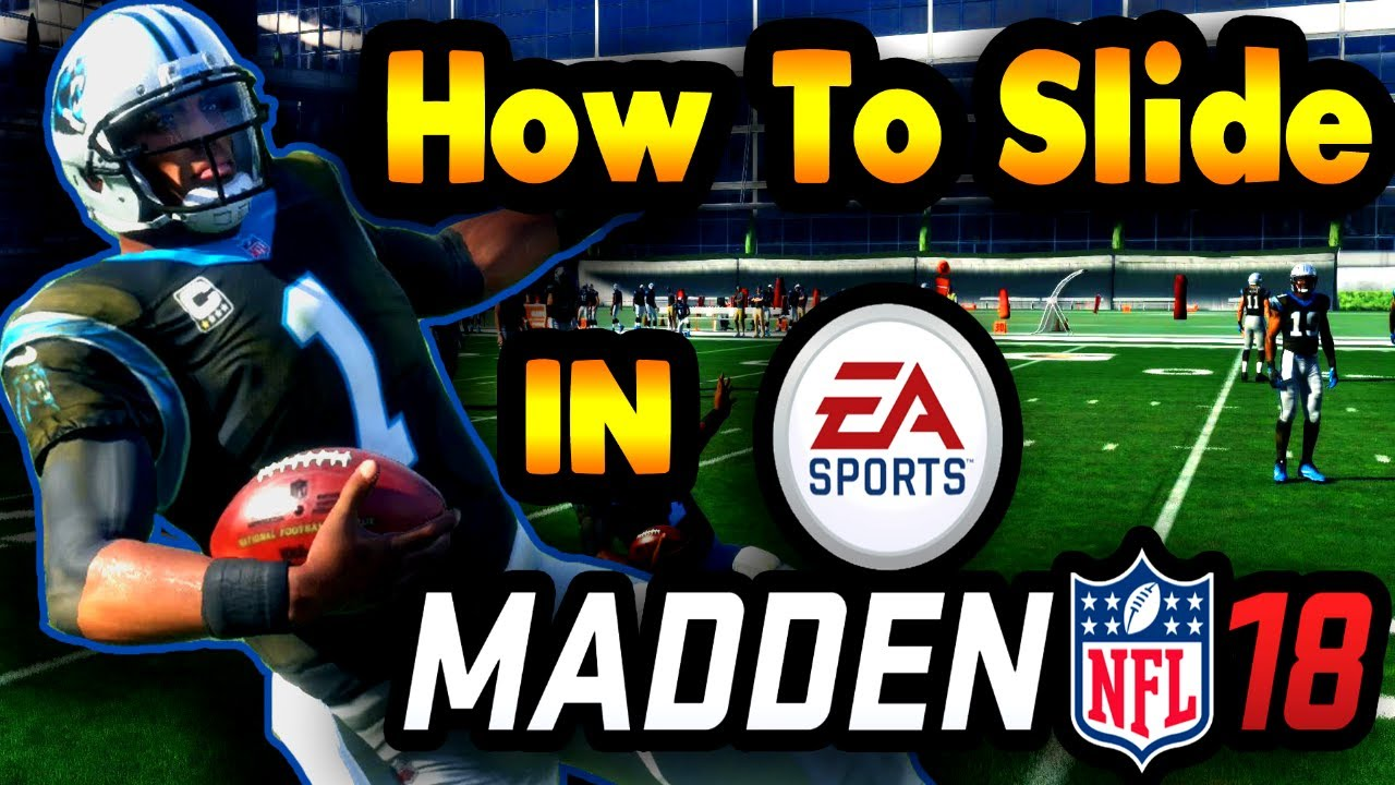 How To QB Slide Madden 19 - Madden 19 Tips To Avoid Big Hits With Your QB  PS4/Xbox One