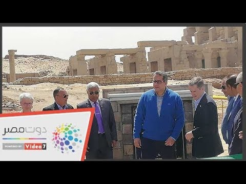 وزير الآثار يفتتح مشروع المياه الجوفية بمعبد كوم أمبو  - 13:54-2019 / 3 / 25