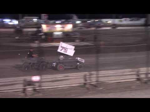 CA Speedweek, Lemoore Raceway - Micro 600R B Main (Carson Borden) - June 30, 2018