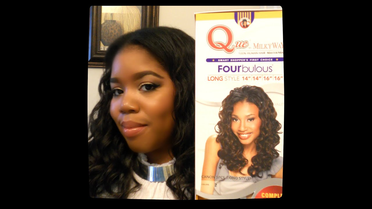 Hair Info Que by Milky Way Fourbulous Canon 5pcs  YouTube