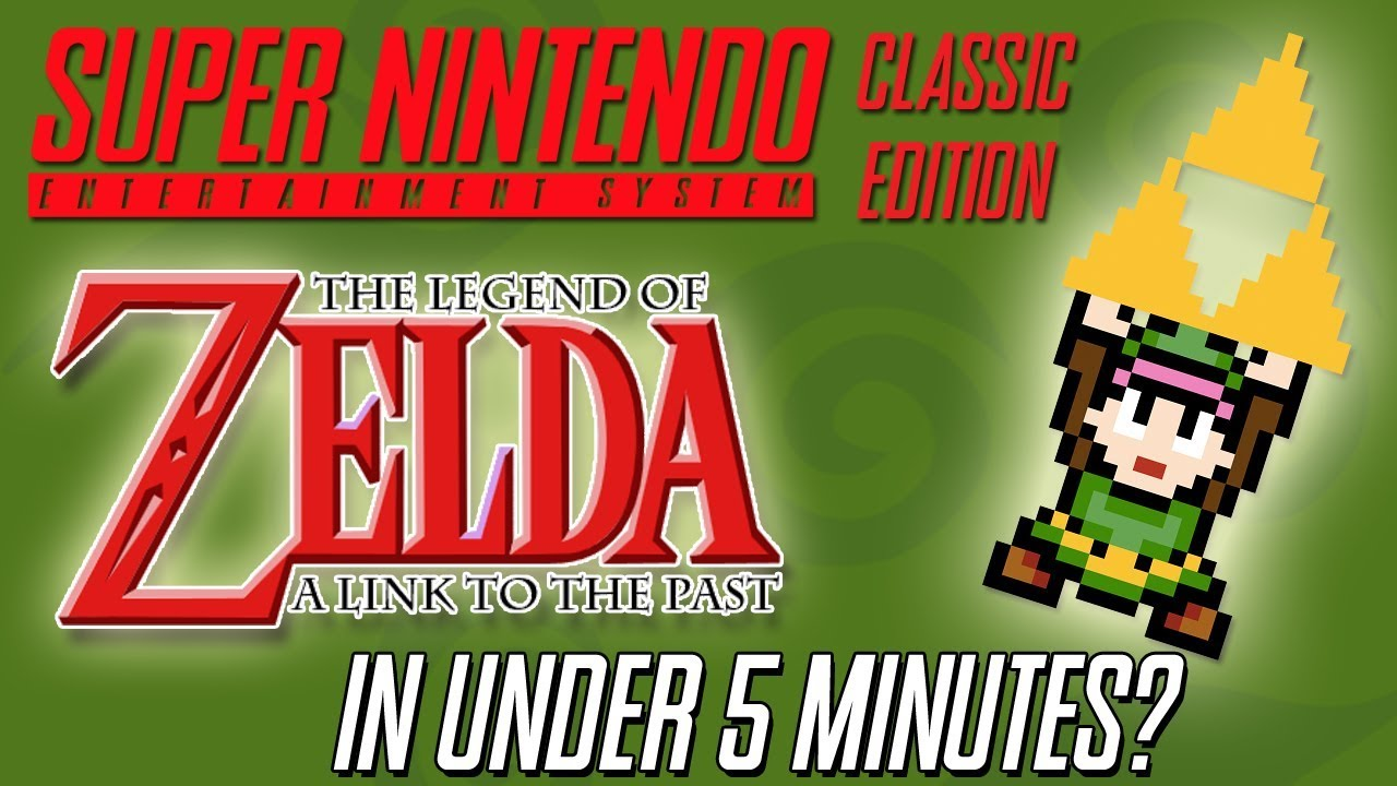 SNES CLASSIC EDITION | Zelda a Link to the Past in Under 5 Minutes: Is It  Still Possible?