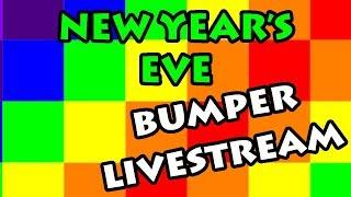 BUMPER NEW YEAR'S EVE LIVE - Minecraft, Roblox, Fortnite et plus (première partie)