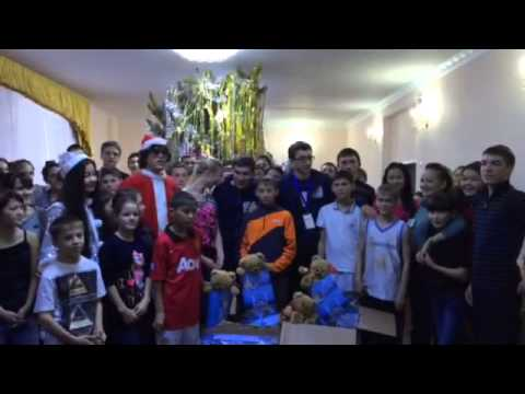 Shape New Year magic comes to Zholymbet Orphanage in Kazakhstan. Thanks Global Shapers Groznyi Hub!