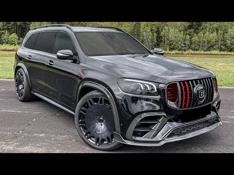 NEW 2021 GLS800 BRABUS + SOUND! Most BRUTAL 7 Seater SUV in the WORLD!