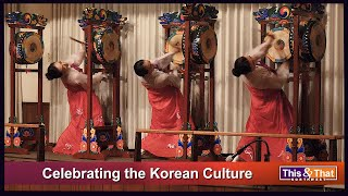 Korean Culture Drum Performance