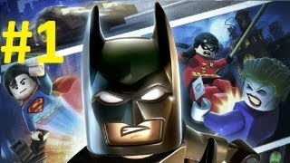 Lego Batman 2 PC DC Super Heroes Gameplay Walkthrough Part 1 [HD] Let