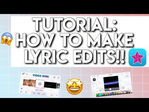 Tutorial:How to make lyric edits!!*REMAKE*