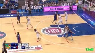 Highlights: Terrence Romeo (10 pts. all in the 4th Qtr.) vs Italy [HQ Reupload]