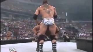 Batista vs JBL   No Holds Barred Match SummerSlam 2005 Highlights