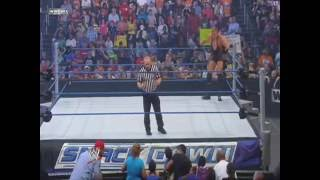 Jack Swagger vs. Rey Mysterio (SmackDown 07 23 2010) Part 2
